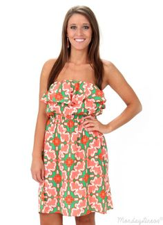 $24.99 SALE! One Mint Julep Strapless Dress