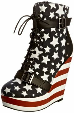 348e8bf9f4 Iron Fist Women s All Star Platform Multi Wedges Boots IFLWEG0010 5 UK