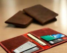 Wallet, Leather Wallet, Personalized Leather Wallet, Front Pocket Slim Design, Minimalist Credit Card Wallet, Mens Leather Wallets