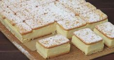 pl :: Napoleonka w 15 minut Fun Desserts, Delicious Desserts, Yummy Food, Sandwiches, Kolaci I Torte, Ice Cream Cookies, Cake Bars, Polish Recipes, Savoury Cake
