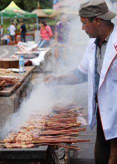 Street Food . Urumqi China