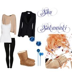 """Sakamaki Shu Inspired Outfit, Diabolik Lovers"" by phsycometorzi on Polyvore"