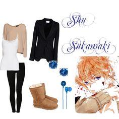 """Sakamaki Shu Inspired Outfit, Diabolik Lovers"" by phsycometorzi on Polyvore"