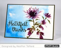 It's new release time on the Penny Black blog-- click through for card ideas…