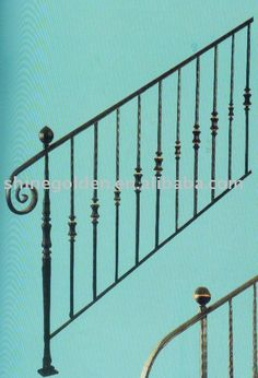 WH 247E 2012 Wrought Iron Handrails Outdoor Stairs $20~$70