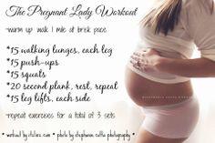 The Pregnant Lady Workout | Fitness | Pregnancy | FitPregnancy | itzlinz.com