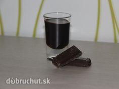 Čokoládový likér Cocktails, Drinks, Sweet Recipes, Shot Glass, Smoothies, Coffee Maker, Candle Holders, Tableware, Syrup