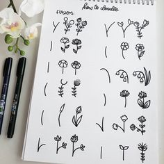 25 Easy Doodle Art Drawing Ideas For Your Bullet Journal - Brighter Craft Bullet Journal Notes, Bullet Journal Aesthetic, Bullet Journal Ideas Pages, Bullet Journal Inspiration, Easy Doodle Art, Doodle Art Drawing, Drawing Ideas, Doodle Art For Beginners, Drawing Faces