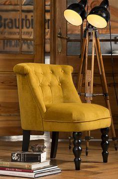 sillas estilo de estilo estilo retro estilo vintage modelo guadalupe butaca silla greys ocres silla retro sillas sillones