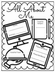 Quick & Free All About Me Fun and easy worksheet to help get the year started and to help get to know your students. Includes PDF of document and link to editable GoogleSlide file.