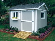 We could all use extra space and a great way to add some storage without taking up valuable square footage within the home is by building an outdoor storage shed. Building a shed is a fun DIY project that any DIYer can accomplish.