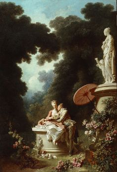 The Progress of Love : Love Letters - Jean-Honoré Fragonard  (1732 - 1806)
