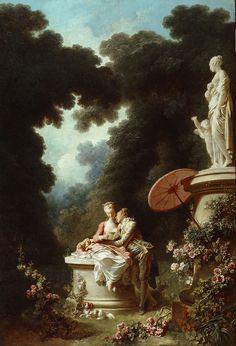 The Progress of Love: Love Letters - Jean-Honoré Fragonard (1732 - 1806)    1771-1772