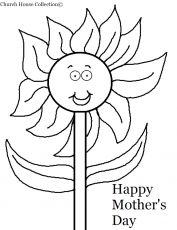 Mothers day printable coloring pages happy mothers day for Happy valentines day mom coloring pages