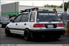 Old Civic Wagon - So rare.  So clean.