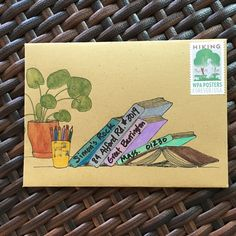 Naomi Bulger does the most fantastic envelope templates! I sent this one to my kid in college. Happy envelopes = happy mail.