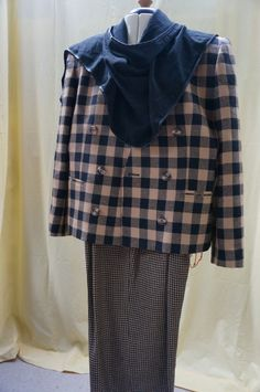 Vintage JONES of NEW YORK Stylish Autumn Winter Pants suit, size 14, pure wool…