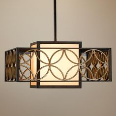 """Murray Feiss Remy Collection 21"""" Wide Pendant Chandelier"""