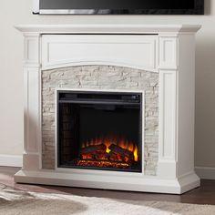 22 best faux stone electric fireplace images fire places rh pinterest com