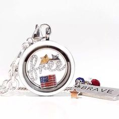 Origami Owl locket. We are the land of the free because of the Brave! Have a safe and happy weekend.  Just click on the pic to order.
