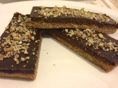 Chocolate Pecan Bars #glutenfree #grainfree #paleo