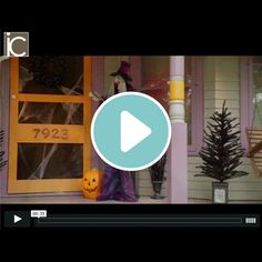 6' Animated Standing Halloween Witch