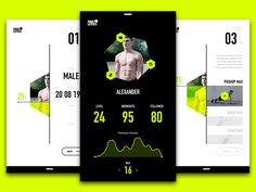 I've tried to redesign the App of Freeletics and especially the Coach.