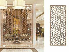 تميز مع #الألواح_المبتكرة بديكورات و قواطع فريدة لفصل الصالات الواسعة. .  #ديكورات #ديكورات_داخلية #تصميم_داخلي #موضة  #ديكور #قصور  #الرياض  #مكة  #مصمم  #تصميم  #اثاث #حائط  #قطر  #حب . Elegant partitions treated as an art ❤ #elegance  #design #interiordesign #decor #screen  #hotel  #jeddah #pattern #wood #coffee  #q8 #love #marble #fashion