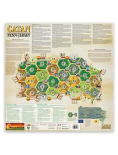 Catan Geographies: Pennsylvania and New Jersey!