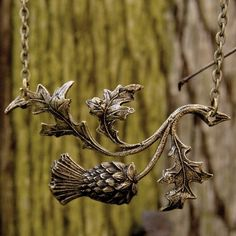 thistle necklace, and i'm usually not a necklace fan