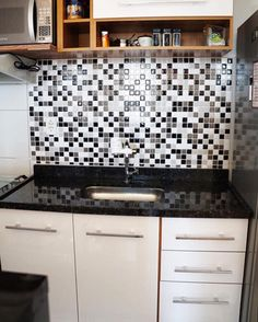 Cozinha da Fernanda Calheiros. Modelo Tons de Cinza código PPR001