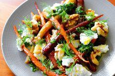 Roast Carrots, Gremolata