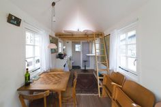 A young and vibrant intentional community, a hip European urban/industrial setting, and a tiny bed & breakfast to stay in while you're there – what more could you ask for?#TinyHouseforUs