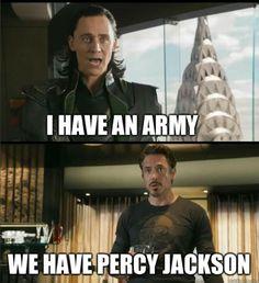 We have Percy Jackson