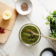 Blender Chermoula Sauce