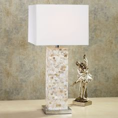 10 Best Mother Of Pearl Table Lamps Images Mother Of Pearls