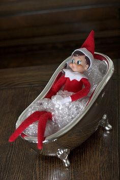 Elf in Tub