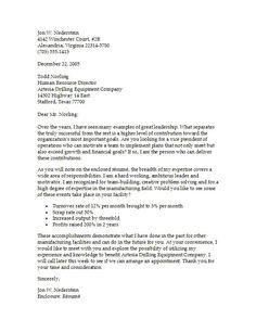 sample letter for resume