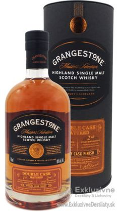 Grangestone Highland Single Malt Scotch Whisky 0,7 l 40%