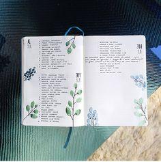 Bullet Journal minimaliste et coloré #bujo #minimalist
