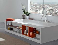 super futuristic bathroom storage - Google Search