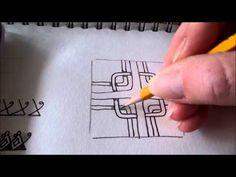 How to draw tanglepattern Hazen