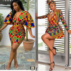 Without much choice about which style is fashionable, let's take a look at these fabulous impressions of Ankara! African Fashion Ankara, Latest African Fashion Dresses, African Print Fashion, Short African Dresses, African Print Dresses, African Attire, African Wear, African Fashion Traditional, Nigerian Outfits