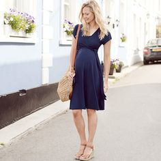 Maternity & Nursing Wrap Dresses, Last Chance To Buy, Outlet