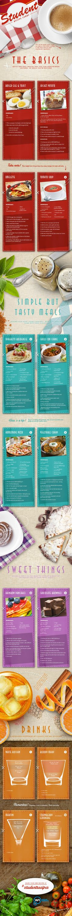 Student Recipe Cards pizza