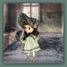 Blythe   Girls Play Dress and Bonnet  19th Century by KarynRuby