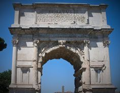 La cámara del arte: El Arco de Tito