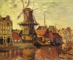 Artify Collections - Monet Tulip Fields With The Rijnsburg Windmill 1886 By Claude Monet, $103.49 (http://artifycollections.com/monet-tulip-fields-with-the-rijnsburg-windmill-1886-by-claude-monet/)