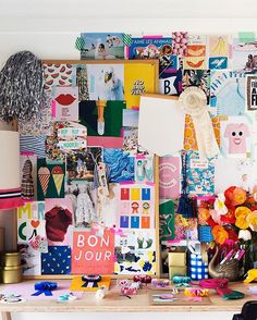 mood board / inspiration wall