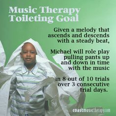 Music Therapy IEP Goal Toileting and Bathroom Skills- Coast Music Therapy